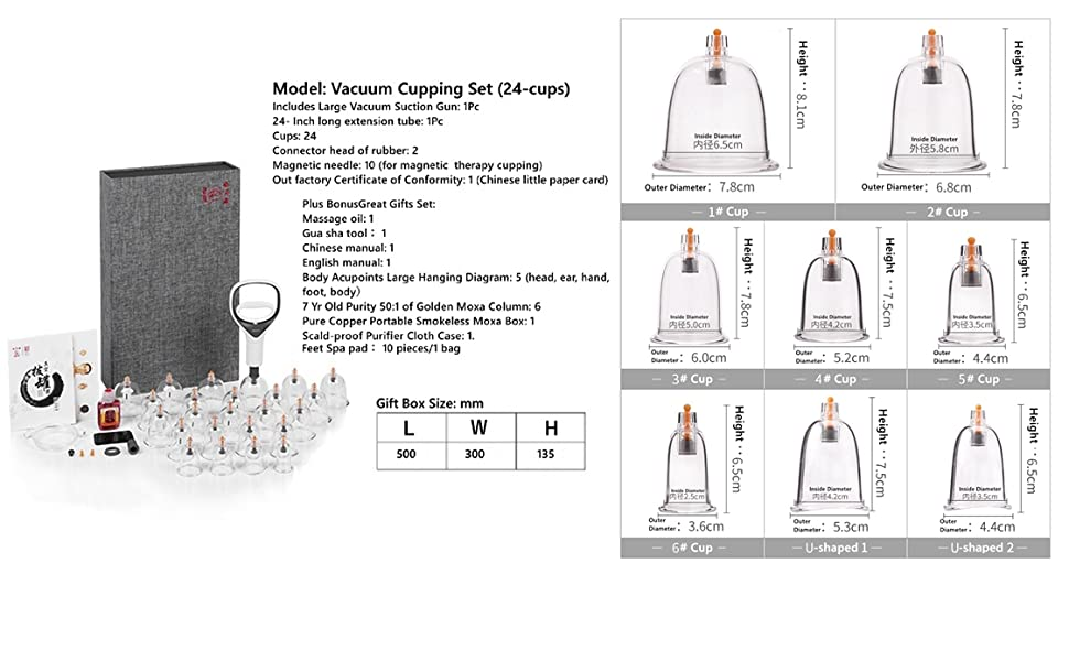 Chinese Cupping Therapy Set