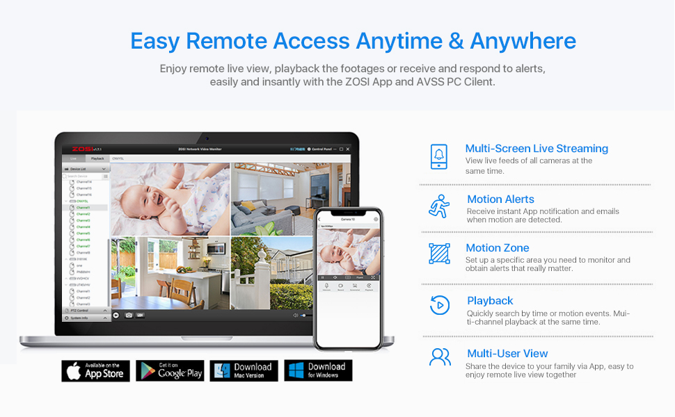 remote access anytime anywhere