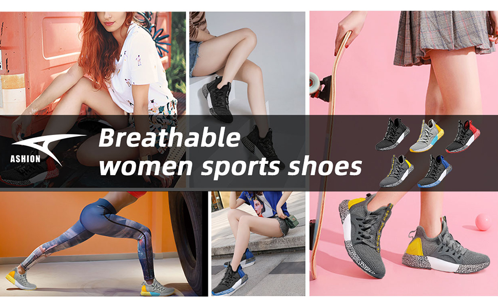 ASHION Running Shoes Sneakers sport shoes ligthweight breathable