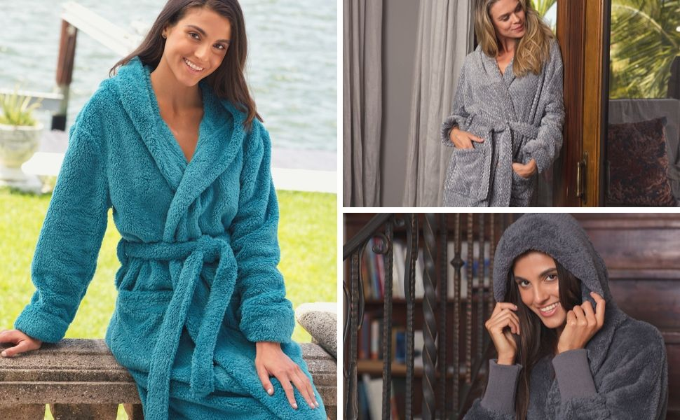 womens long haired robe 2