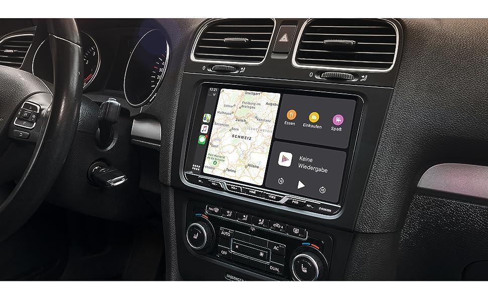 ZENEC Z-E2055: passt perfekt in VW, Seat und Skoda Modelle der Golf 5 und Golf 6 Plattformen