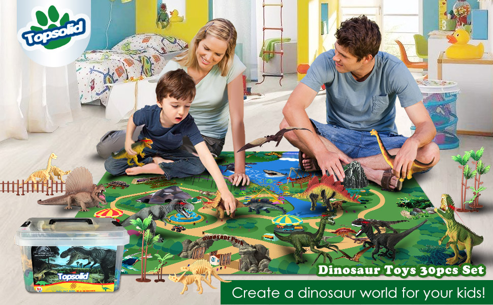 dinosaur toys 30pcs set