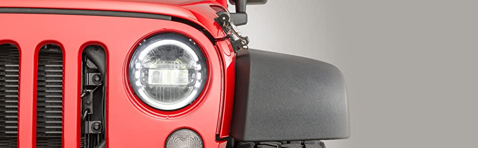 ULT 7inch headlights for JEEP