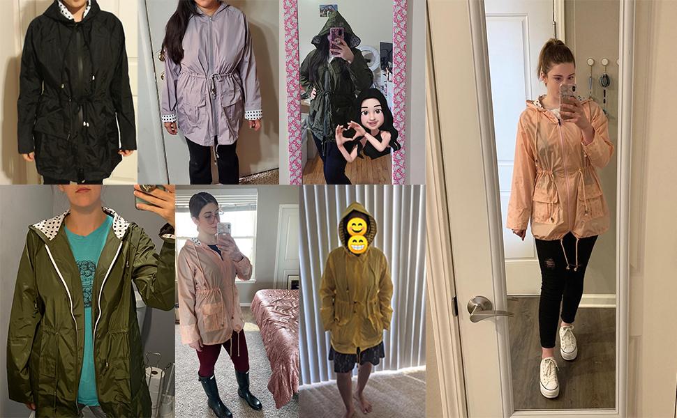 rain gear for women