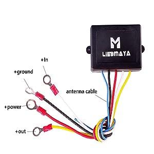 Liebmaya Wireless Winch Remote Control Kit For Truck Amazon Co Uk Electronics