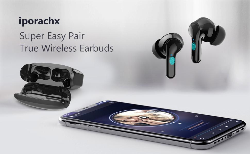 Bluetooth Headphones with HD Mic