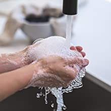 Washable amp; Reusable - Hand wash is preferred