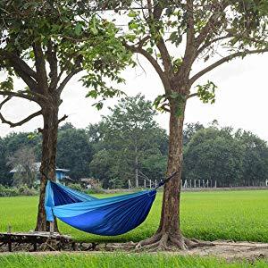 jard/ín Azul Camping Patio Mejor para Senderismo Resistencia de 200KG Playa Utopia Home Hamaca de Nylon Viajes Deporte al Aire Libre