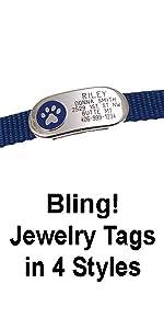 Jewelry Collar Tag
