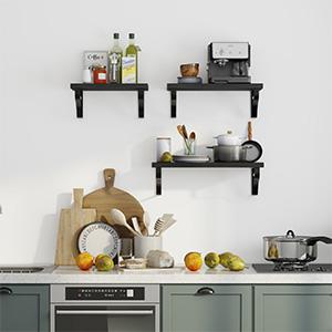 wall shelf for kitchen, floating shelves set, floating shelves bathroom, floating bathroom shelf