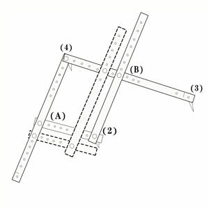 MAYMII Professional Artists Plexiglass Pantograph Artist Drawing Tool Reducer Enlarger Recreate Copy 10 Times Scaling Ruler