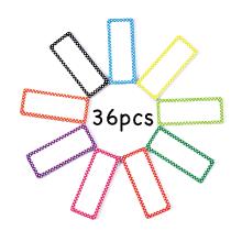 36 pcs dry erase labels