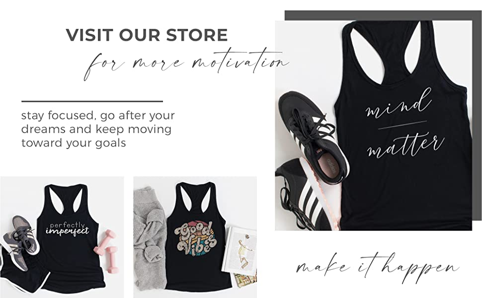 workout tank tops motivational fitness gifts