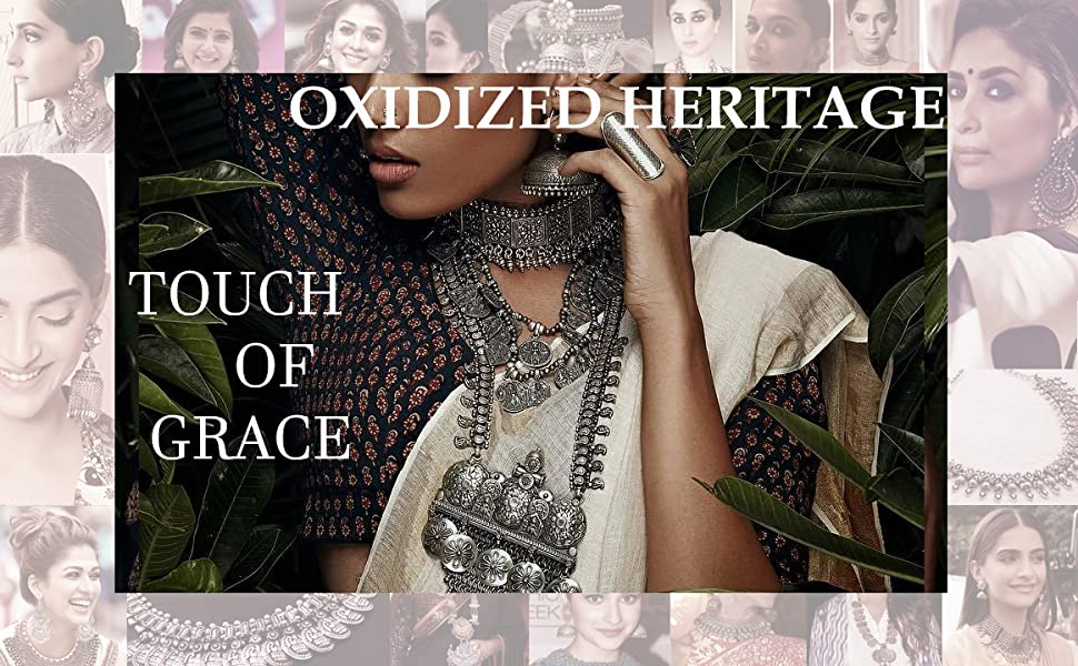 SO Banner Latest Trendy Oxidized jewellery collection celebrity choice