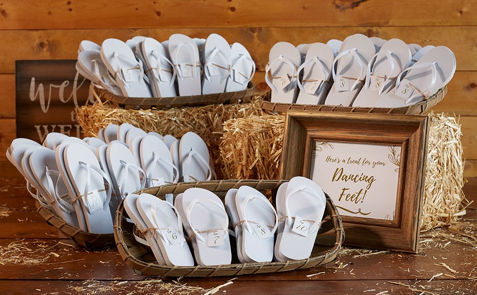 Parity Wedding Flip Flops For Guests Up To 65 Off