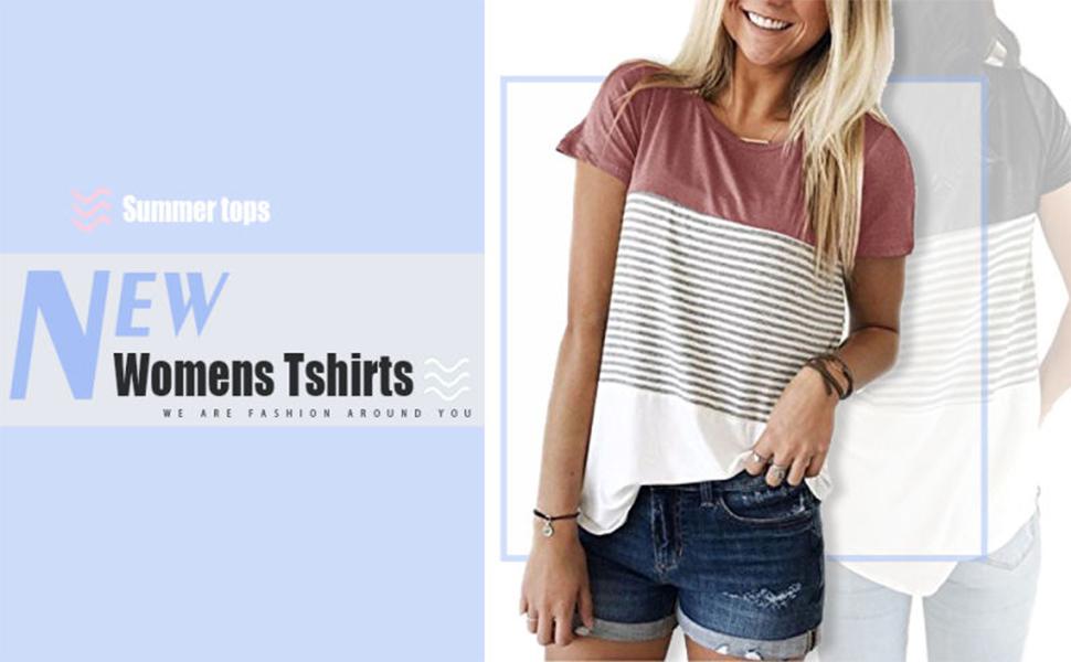 womens tshirts casual
