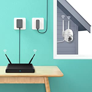 Wi-Fi Wireless Outdoor Security Camera
