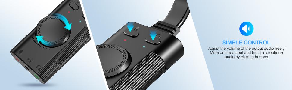 usb headset adapter
