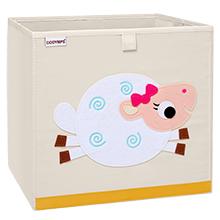 Nursery storage cubes