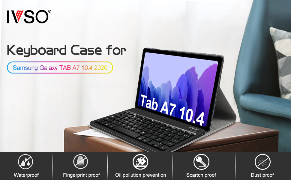 Galaxy Tab A7 Keyboard Case