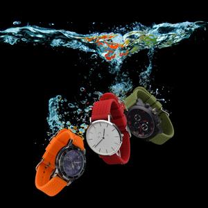 rubber watch strap band 18mm 20mm 22mm men women waterproof sport fitness red orange green boy girl