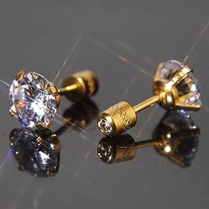 double cz earring
