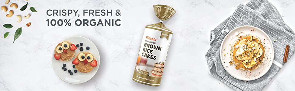Crispy, Fresh and 100% Organic