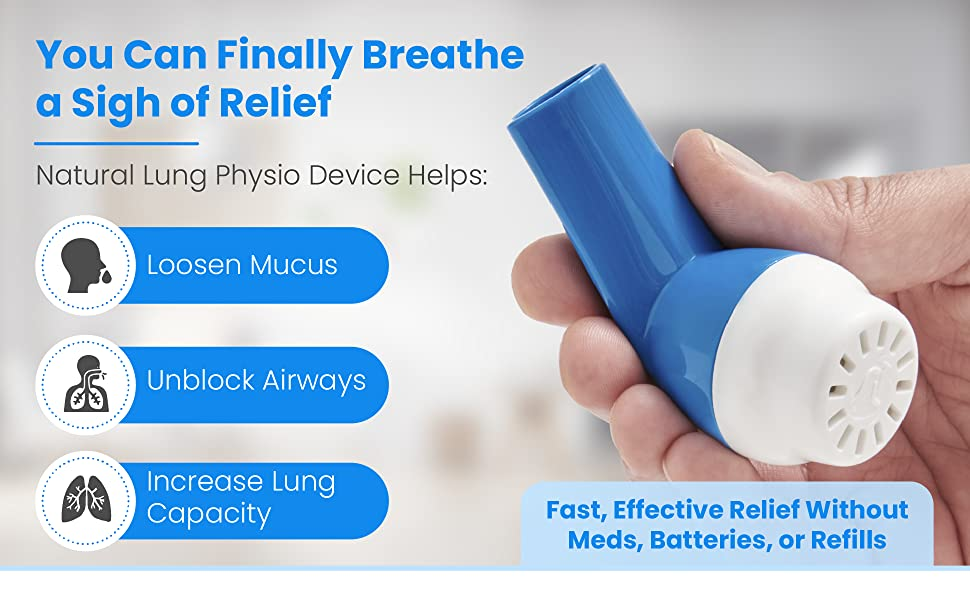 Natural Lung Expansion & Mucus Clearing Device