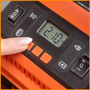 portable air pump for car tires 12 volt air compressor car air compressor tire inflator