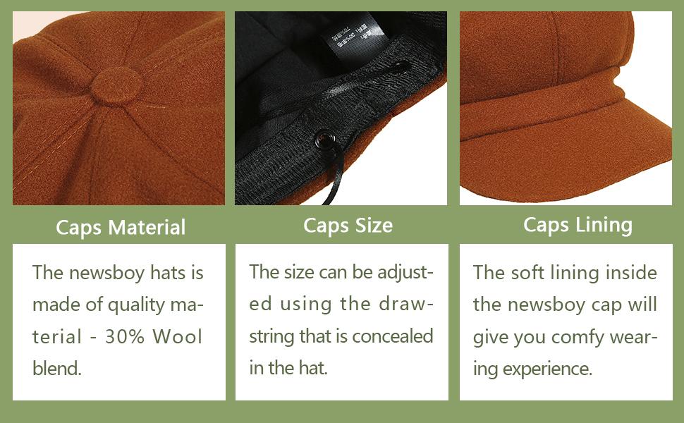 newsboy caps for women