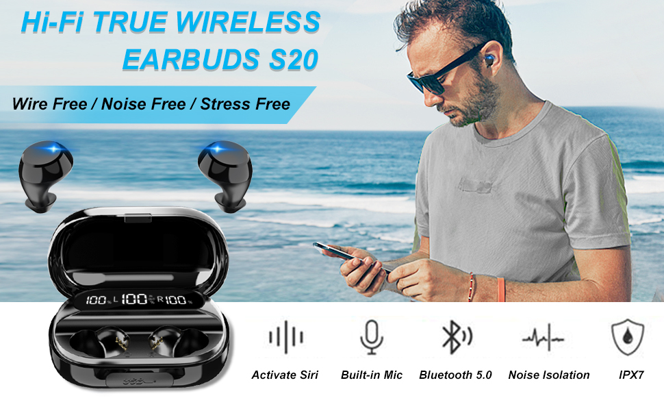 wireless earbuds headphones
