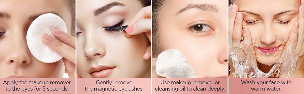 Reusable Magnetic Eyelashes