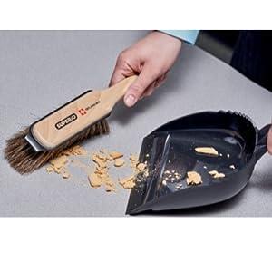 dustpan and brush mini hand broom horsehair