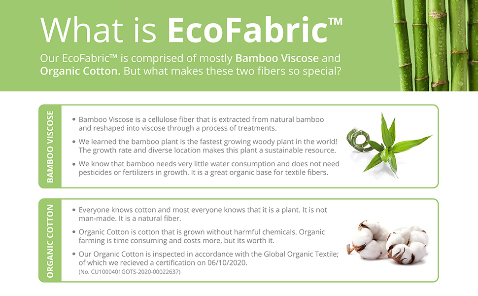 fishers finery what is ecofabric bamboo viscose organic cotton