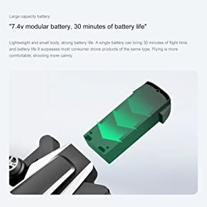 DURABLE BATTERY WITH EXTENDED FLIGHT TIME