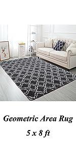 Geometric Bedroom Rug