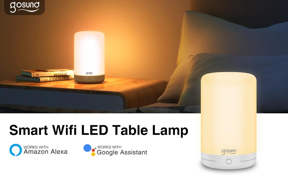Smart WIfi LED Table Lamp