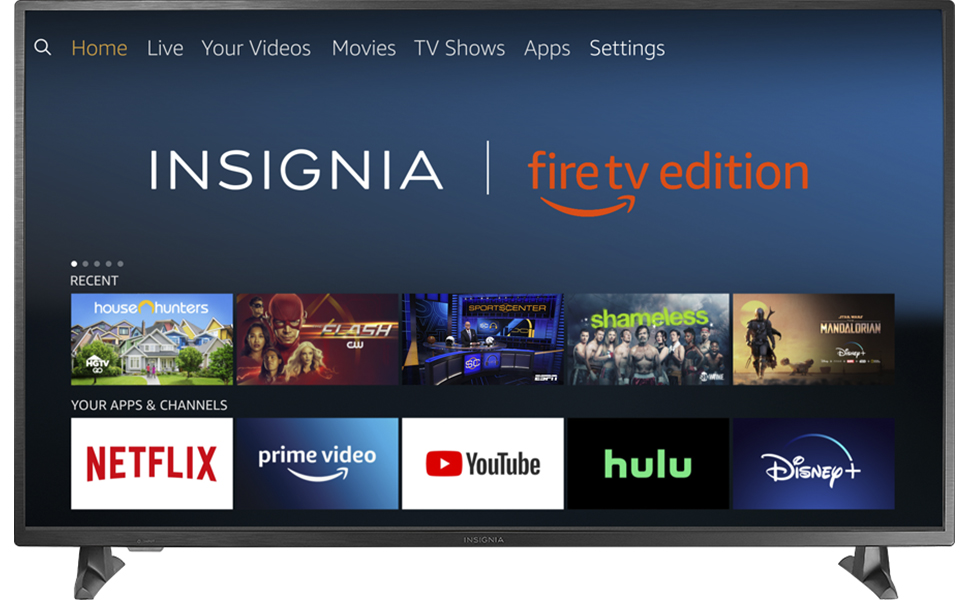Amazon Com Insignia Ns 32df310na19 32 Inch Smart Hd Tv Fire Tv Edition Electronics