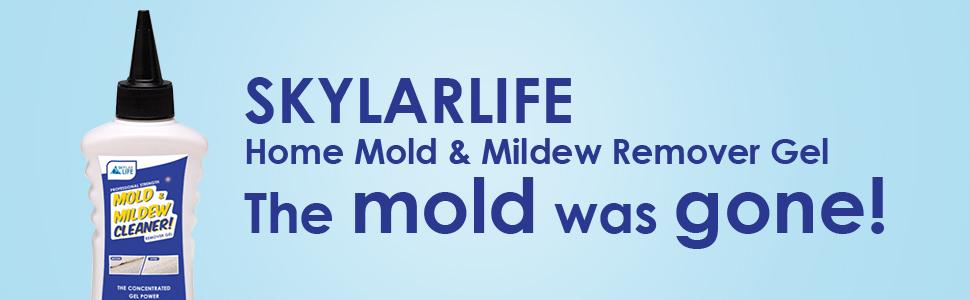 Skylarlife Home Mold & Mildew Remover Gel - the mold was gone