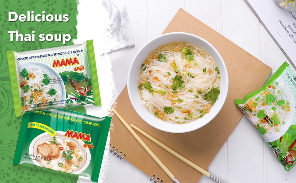 delicious thai soup