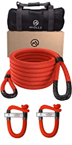 heavy recovery kinetic rope Miolle