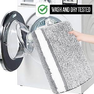 MACHINE WASH and DRY;