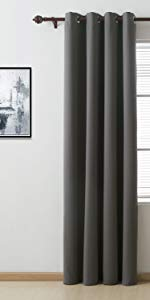 room darkening blackout curtains