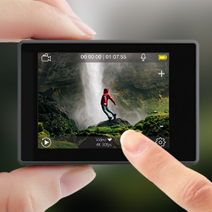 2 Inch Touch Screen with IPS Display
