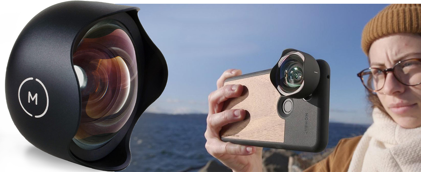 Moment 58mm Lens lense fisheye photo wide angle iphone Case len macro mavic pro filmmaking phone