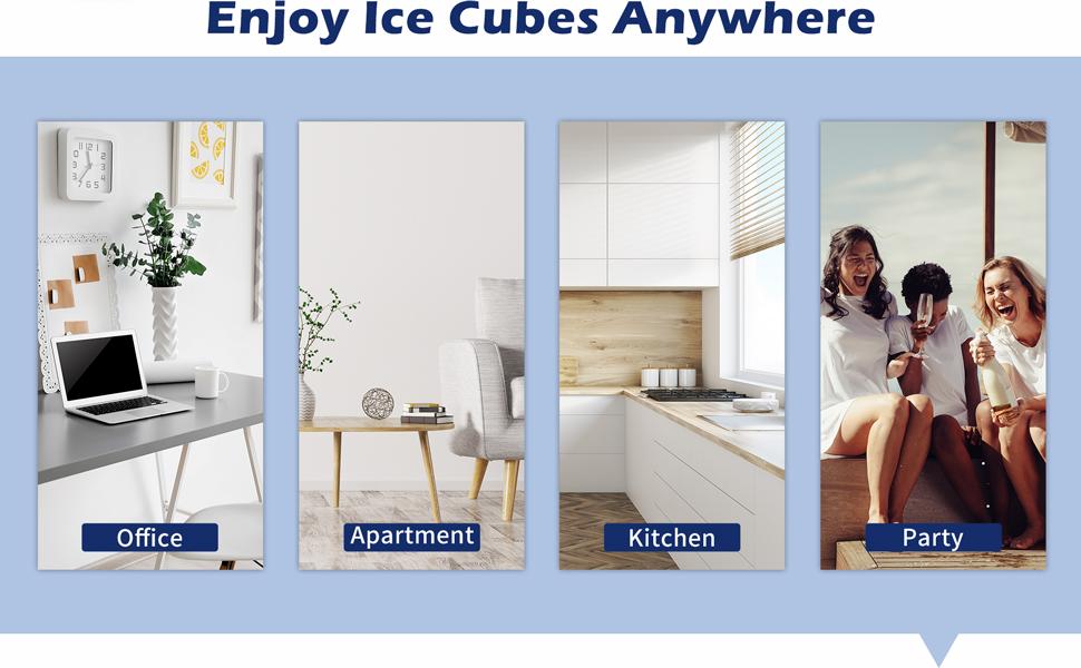 ice maker countertop