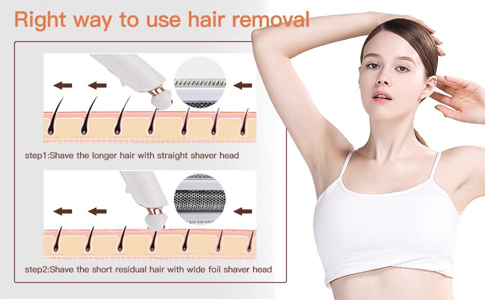 portable hair removal
