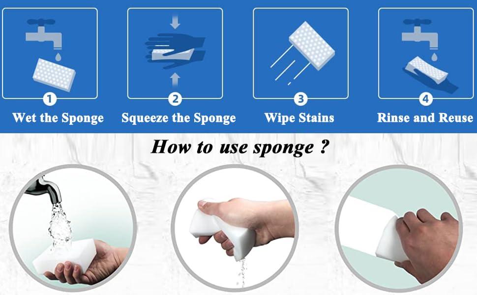 House cleaning sponge wall dish cleaner magic eraser sponge