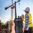 retevis RT21 walkie talkie for construction