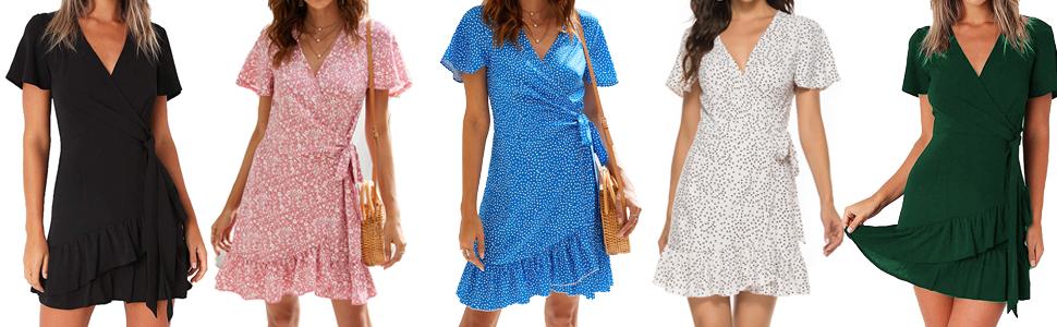 women's summer floral dress